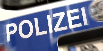 Polizei-Schrift-